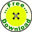 Free Download Button