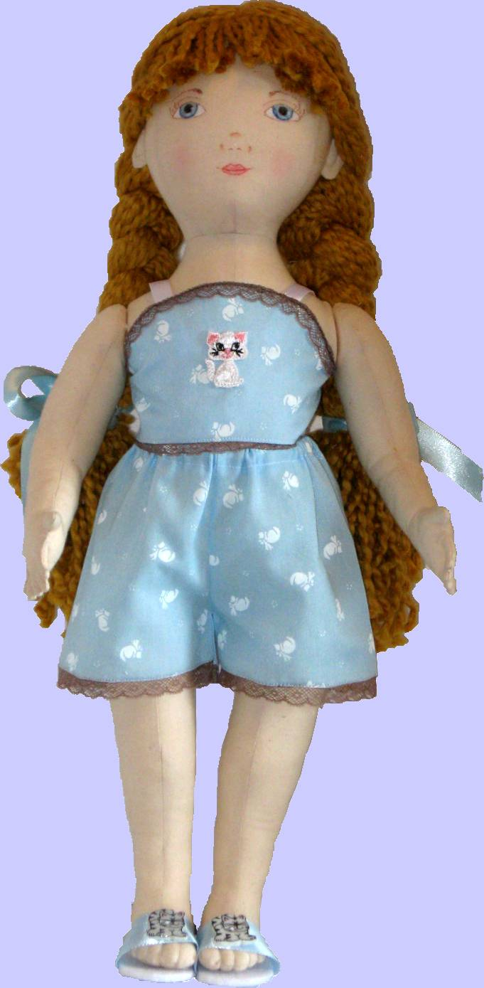 Sherralyn S Dolls Sewing Patterns For Cloth Dolls Doll Clothes